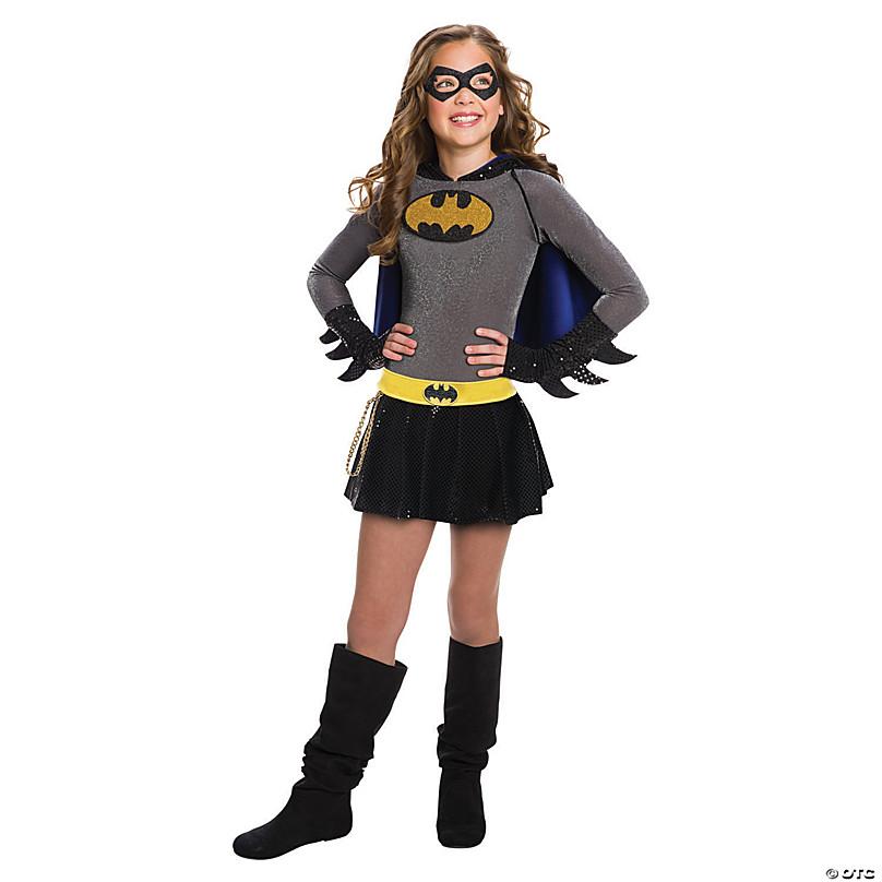 Superhero Costume Batgirl Dress Bat Girl Batman