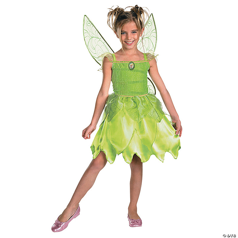 Childrens Green Peter Pan Costume Never Land Fairy Tale Fancy Dress Outfit