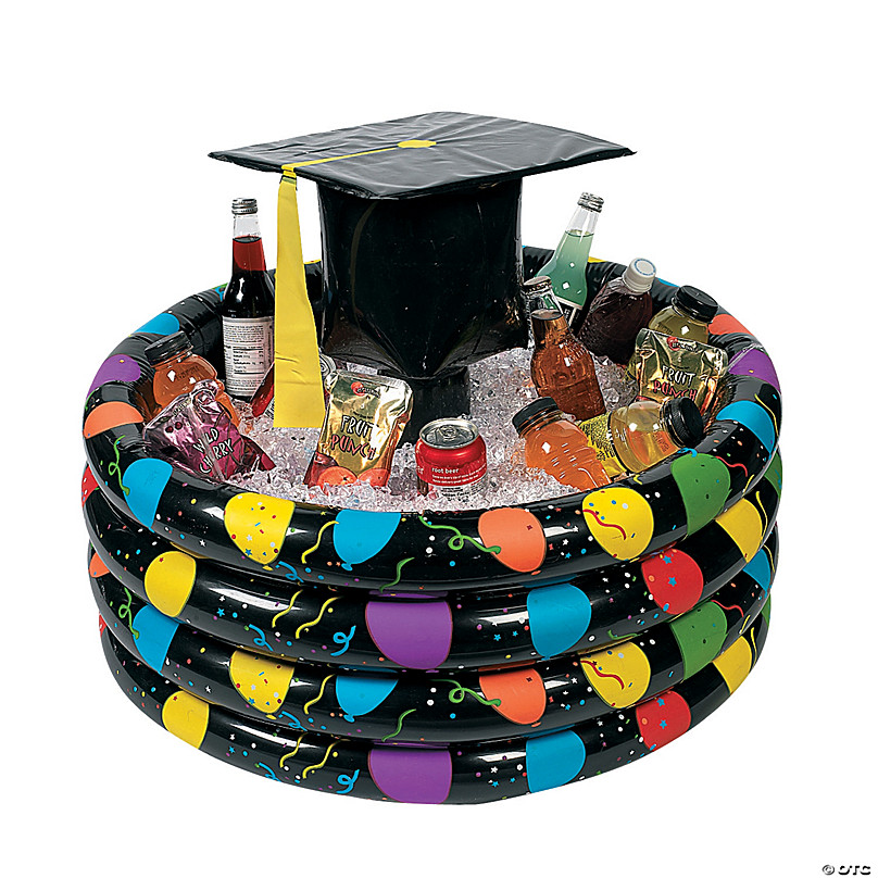 Toys Fun Express Inflatable Coolers Graduation Inflates 1 Piece Graduation Inflatable Buffet for Graduation