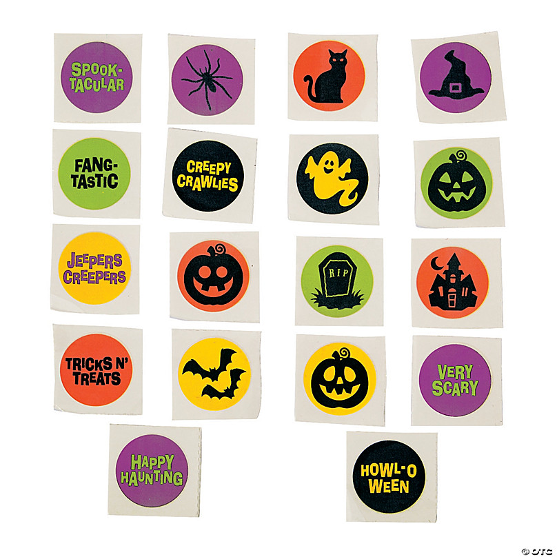 72 Spider Temporary Tattoos Halloween Handouts//Treats or Costume Accessories