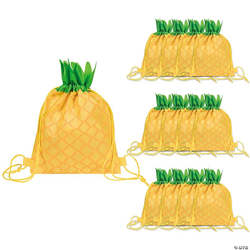 Colorful Pineapple Print Drawstring bag