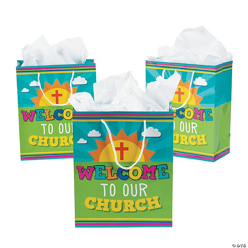 Welcome To Our Church Kids Gift Bags