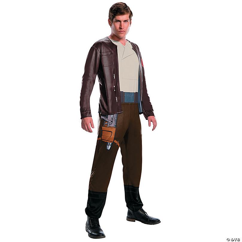 HZYM New Star Wars The Last Jedi Poe Dameron Cosplay Costume Halloween Party