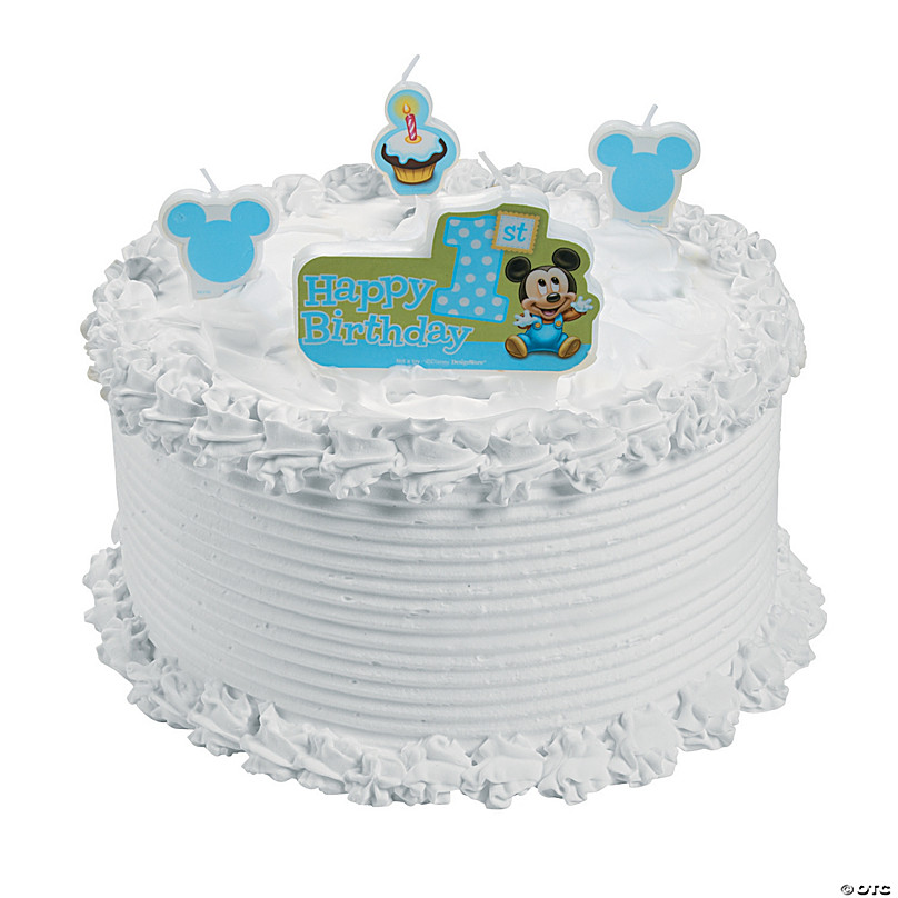 Miraculous Mickeys 1St Birthday Candles Discontinued Funny Birthday Cards Online Alyptdamsfinfo