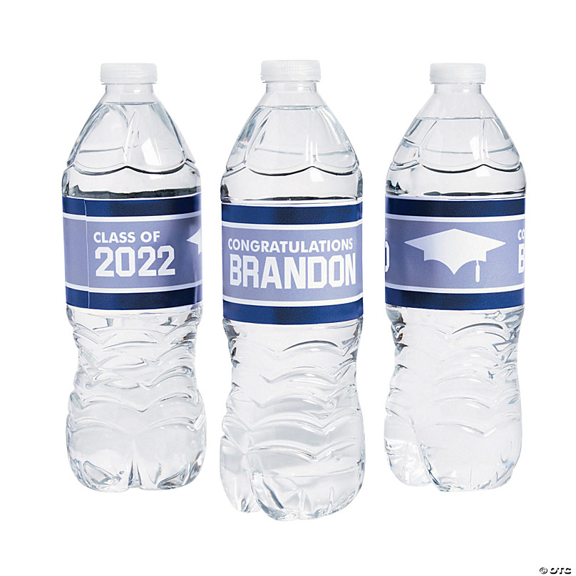 Personalized Class Of Water Bottle Labels Oriental Trading