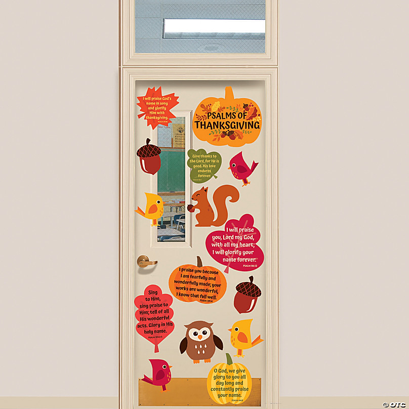 Thanksgiving Bulletin Board Supplies Oriental Trading Company