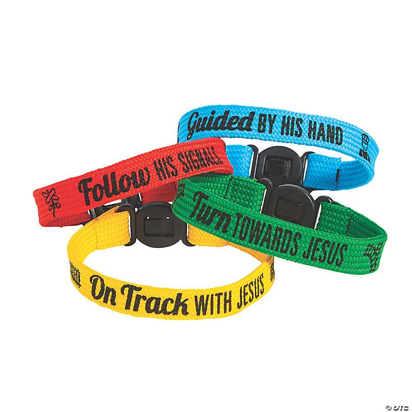 Baseball Big Band Bracelets Novelty Jewelry /& Bracelets Fun Express 24//2461
