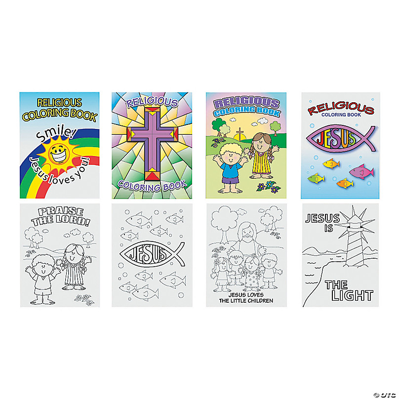 Religious Coloring Books Oriental Trading
