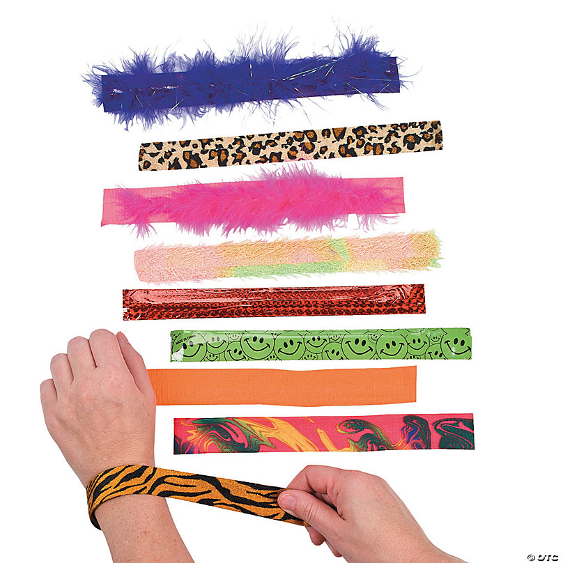 Slap Bracelet Ortment 100 Pcs