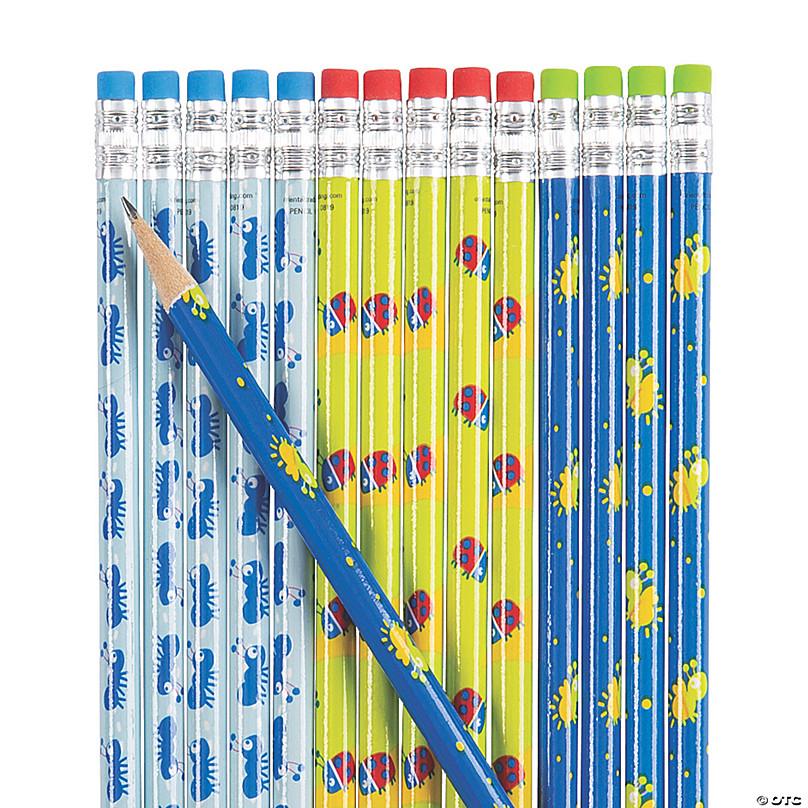Easter Spring Varied Image Pencils 24 Pack