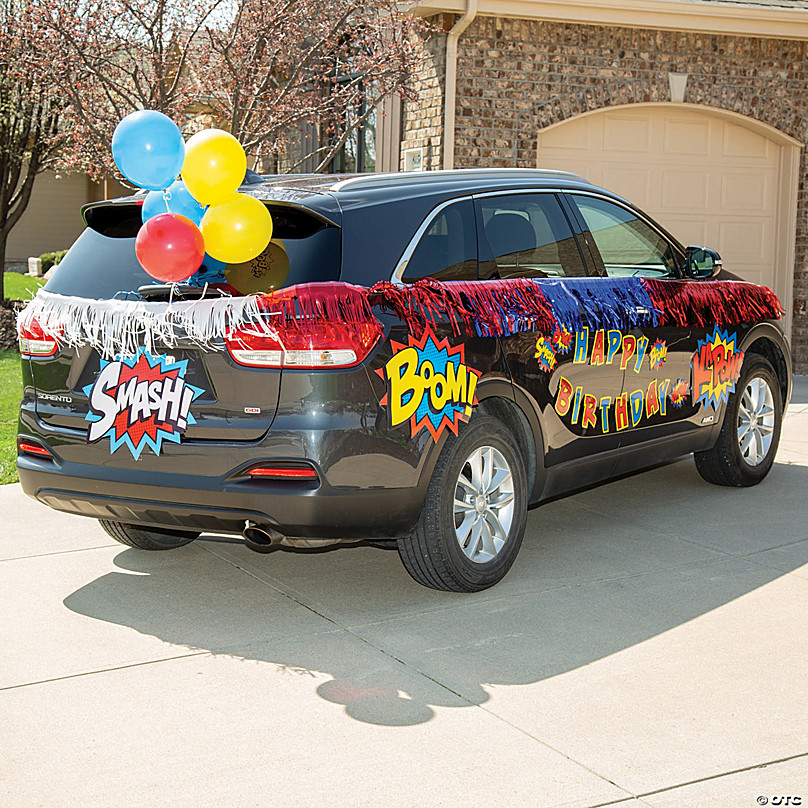 Decorating A Car For A Parade - Bangmuin Image Josh