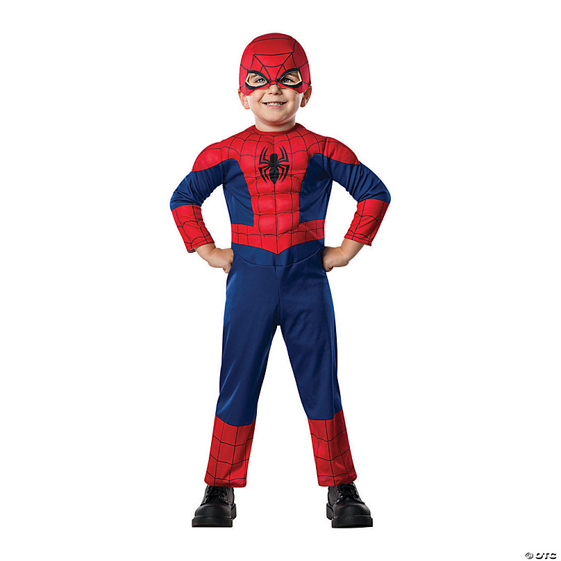 Ultimate Spider-Man Reversible Marvel Superhero Black Halloween Child Costume