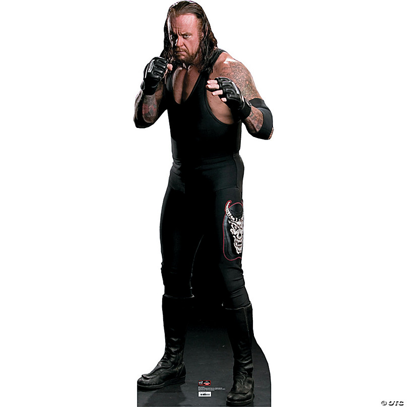 Undertaker Wwe Cardboard Stand Up Oriental Trading