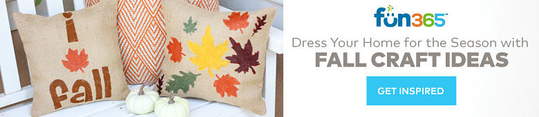 Dress Your Home for the Season with Fall Craft Ideas on Fun365