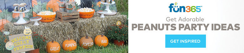 Fun365 Get Adorable Peanuts Party Ideas - Get Inspired