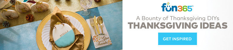 Fun365 - A Bounty of Thanksgivng DIYs - Get Inspired