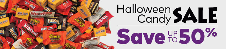 Halloween Candy Sale Save Up to 50%