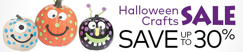 Halloween Crafts Sale Save Up to 30%
