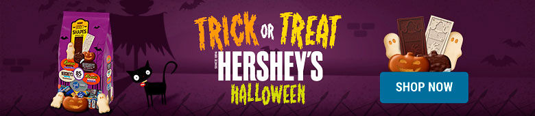 Trick Or Treat with Hershey's Halloween - Shop Now