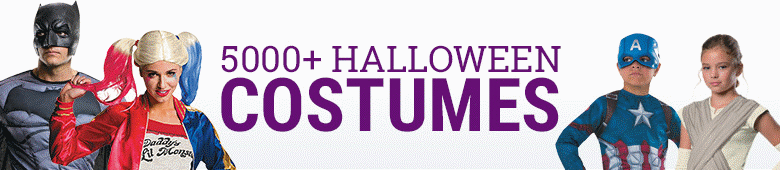 Over 5000 Halloween Costumes