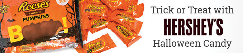 Trick or Treat with Hershey's Halloween Candy