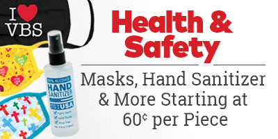 Health & Safety. Masks, hand sanitizer and more starting at 60 cents per piece