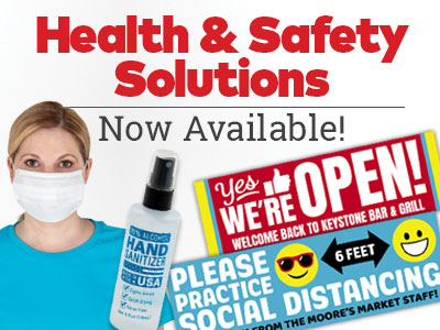 Health and safety solutions now available!