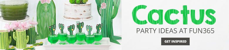 Cactus Party Ideas By Fun365