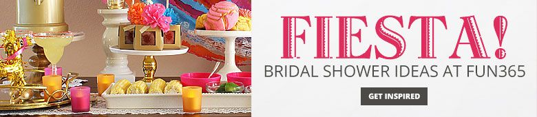 Fiesta Bridal Shower Ideas By Fun365