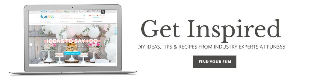 Get Ispired - DIY Ideas, Tips and Recipes From Industry Experts at Fun365