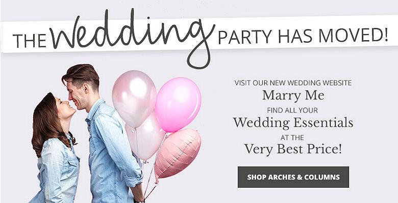 Wedding Arches, Columns, Balloon Arches
