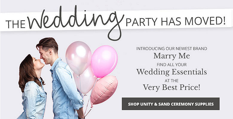 Shop Unity and Sand Ceremony - Visit our new wedding website Marry Me. Find all your wedding essentials at the very best prices.
