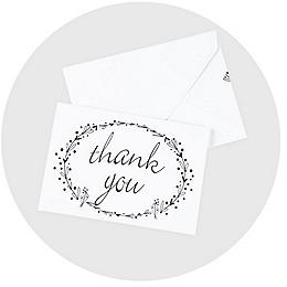 stationery supplies invitations notepads thank you cards