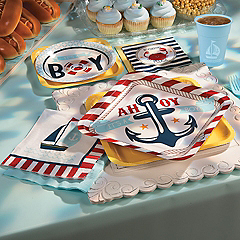 Nautical Baby Shower Wedding Party Supplies