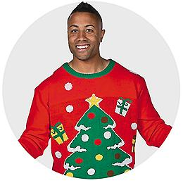 ugly christmas sweaters accessories ideas oriental trading - Ugly Christmas Decorations