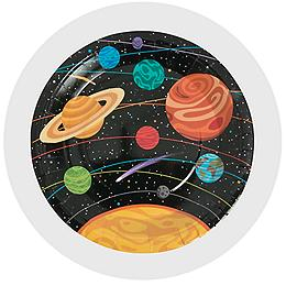 Galaxy Outer Space Party Supplies Decorations