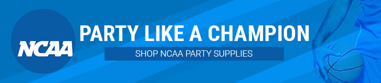 NCAA Party Supplies - Find Your Favorite Team
