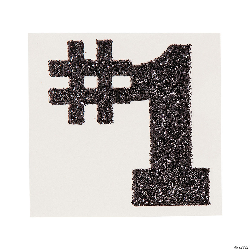 #1 Black Glitter Tattoo Stickers Audio Thumbnail