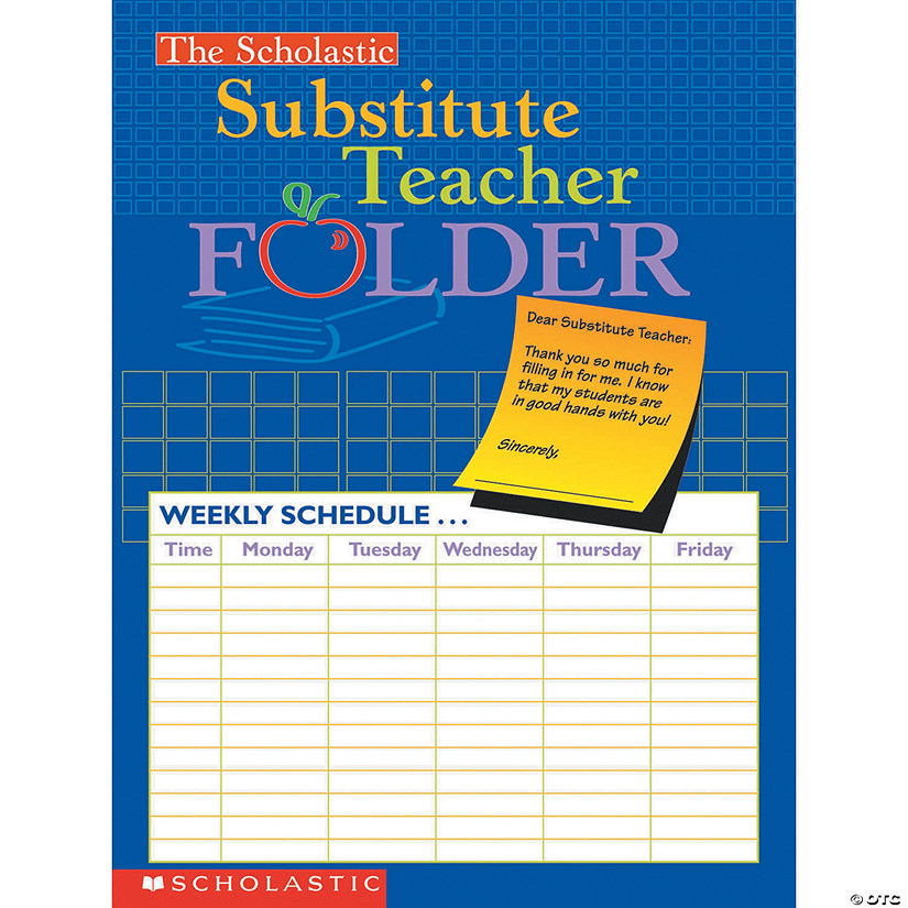 (10 Ea) Substitute Teacher Folder Audio Thumbnail
