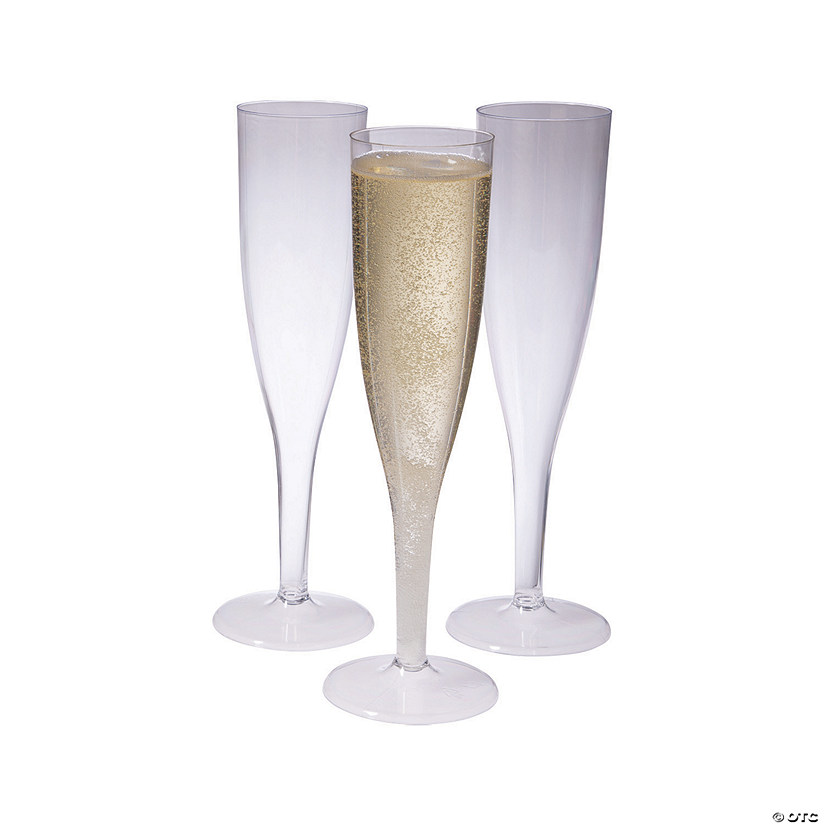 10-Pc. Clear Champagne Flutes Box Set Audio Thumbnail