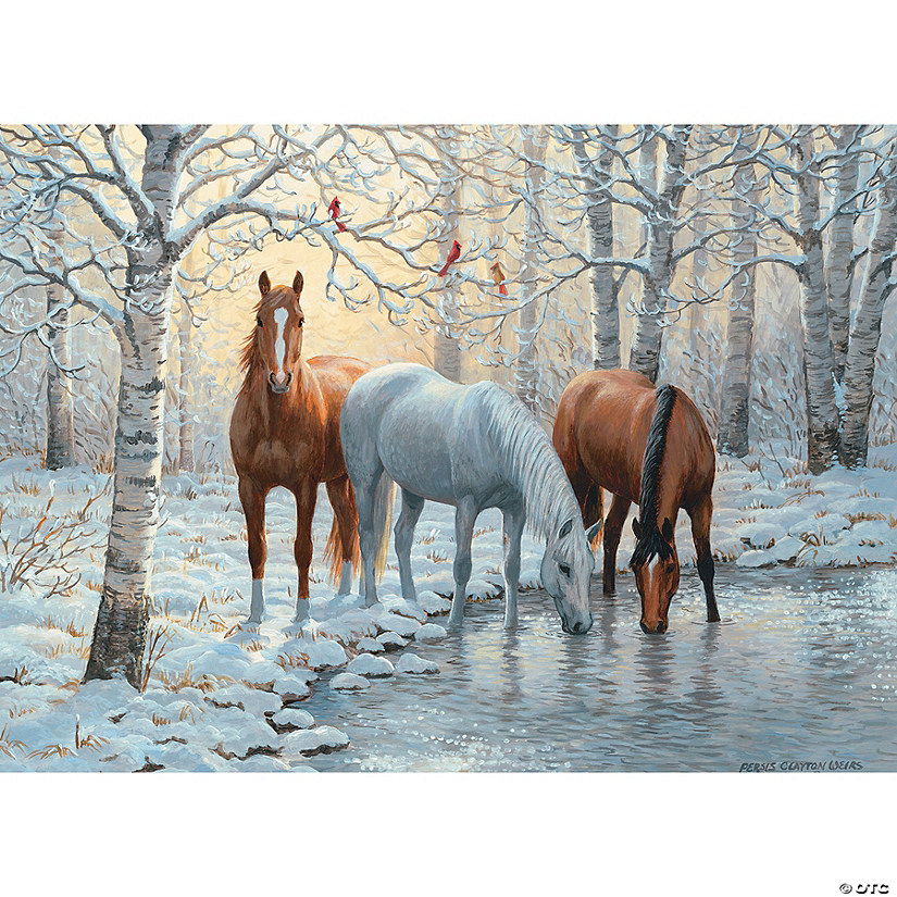 1,000-piece Puzzle: Winter Trio