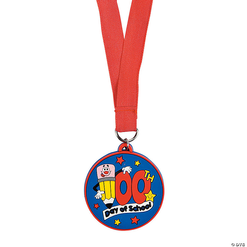 100th Day of School Medals