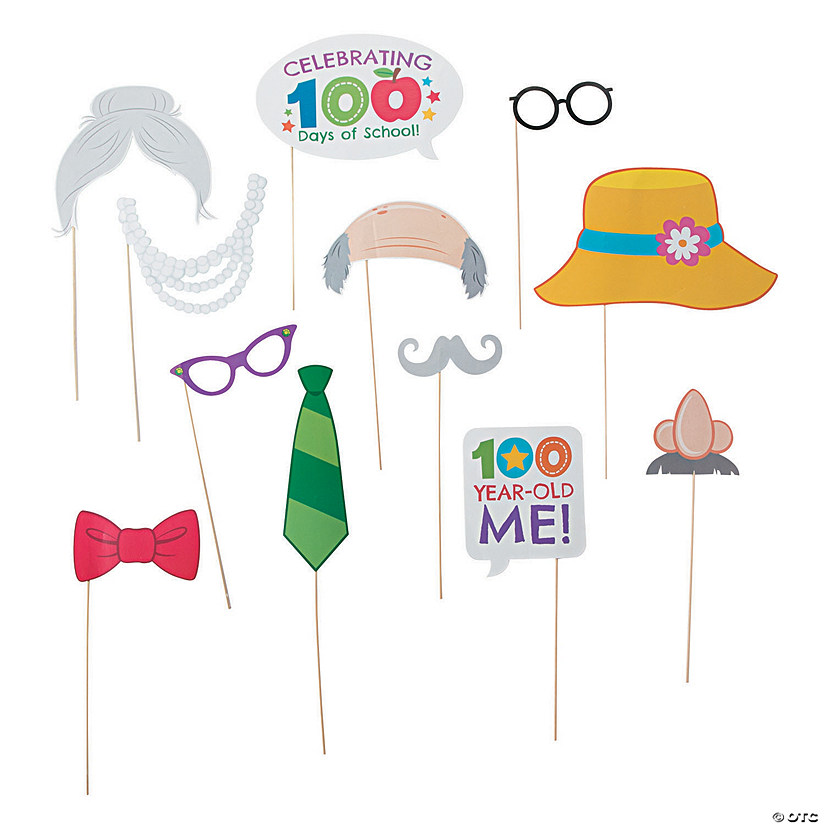 100th Day of School Photo Stick Props Audio Thumbnail