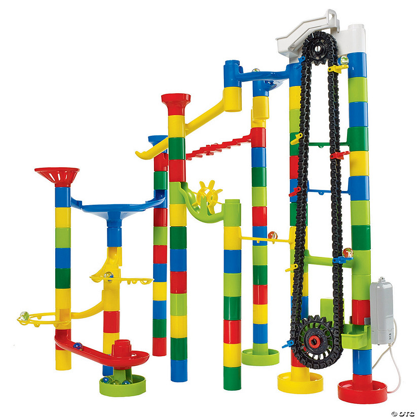 110 Piece Elevator Marble Run Audio Thumbnail
