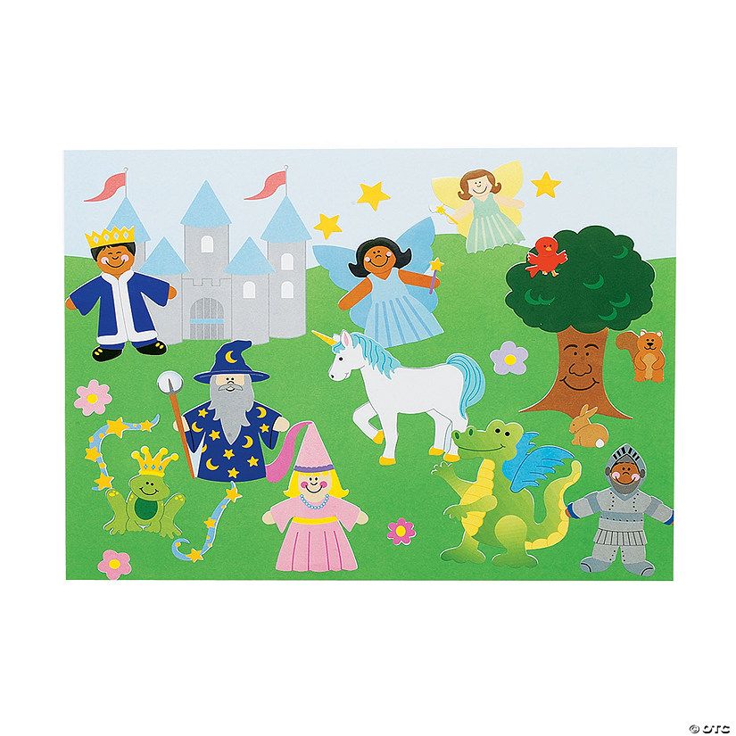 Fairy tale stickers