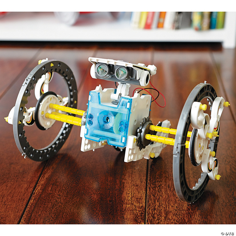 14-in-1 Educational Solar Robot Kit Image Thumbnail