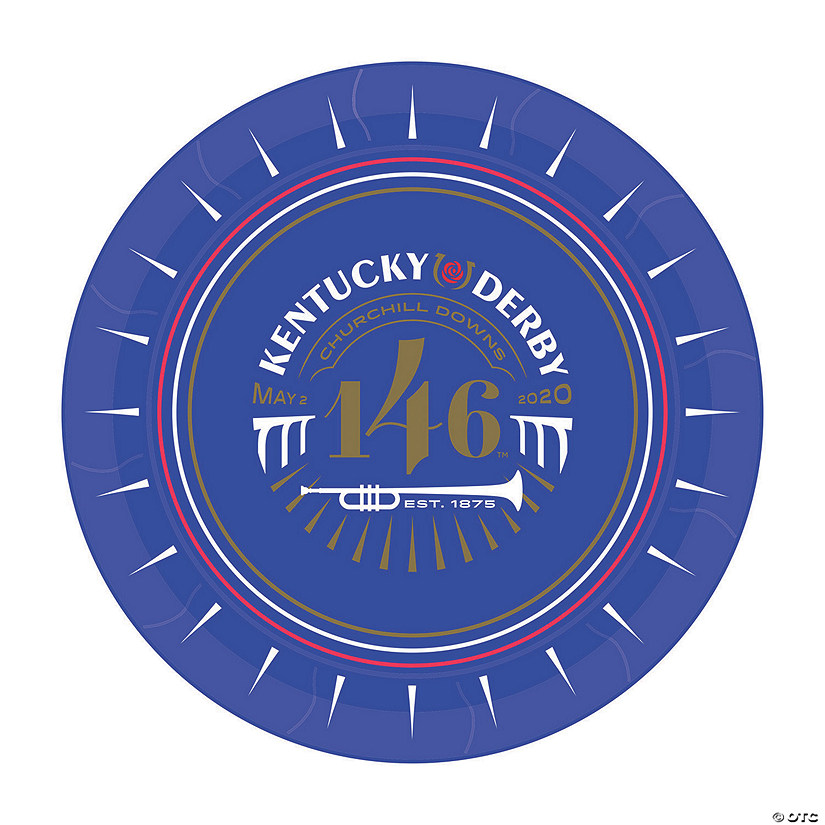 146th Kentucky Derby™ Paper Dinner Plates Audio Thumbnail