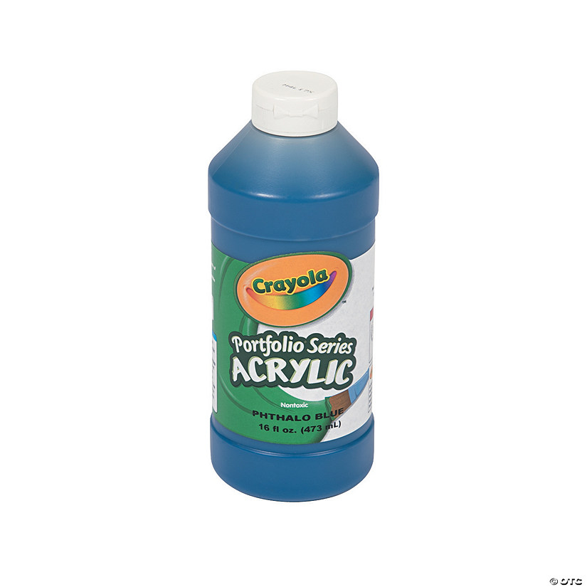 16-Oz. Crayola® Washable Blue Acrylic Paint