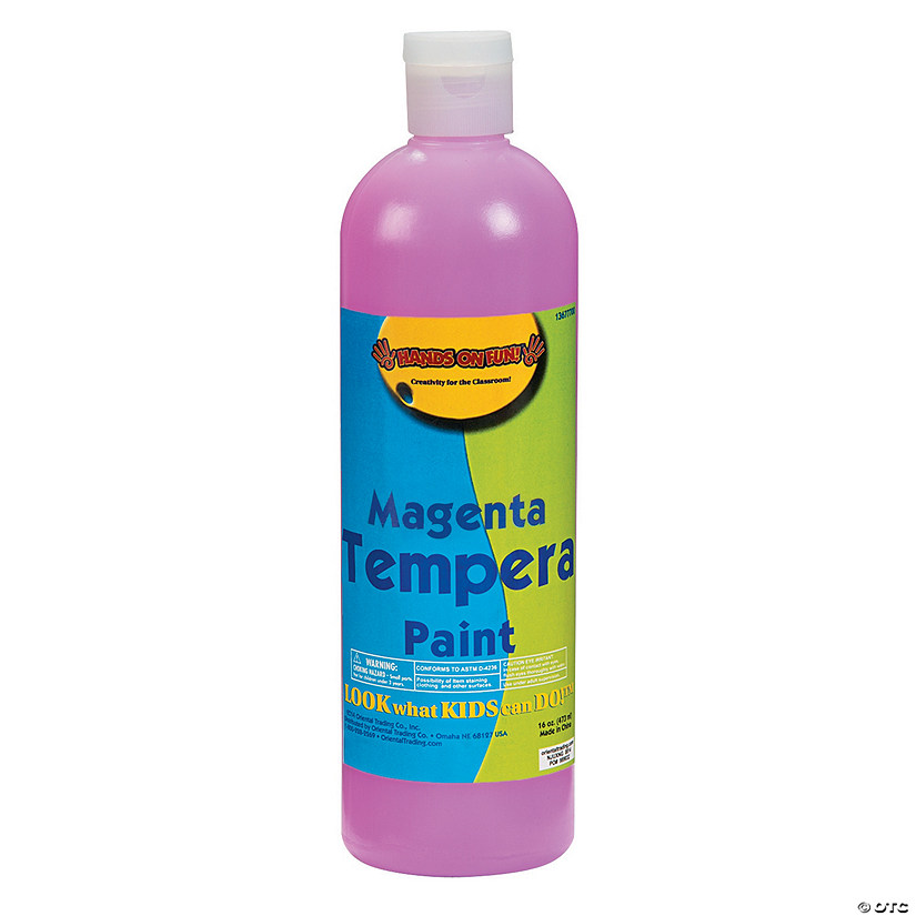 16-Oz. Washable Magenta Tempera Paint