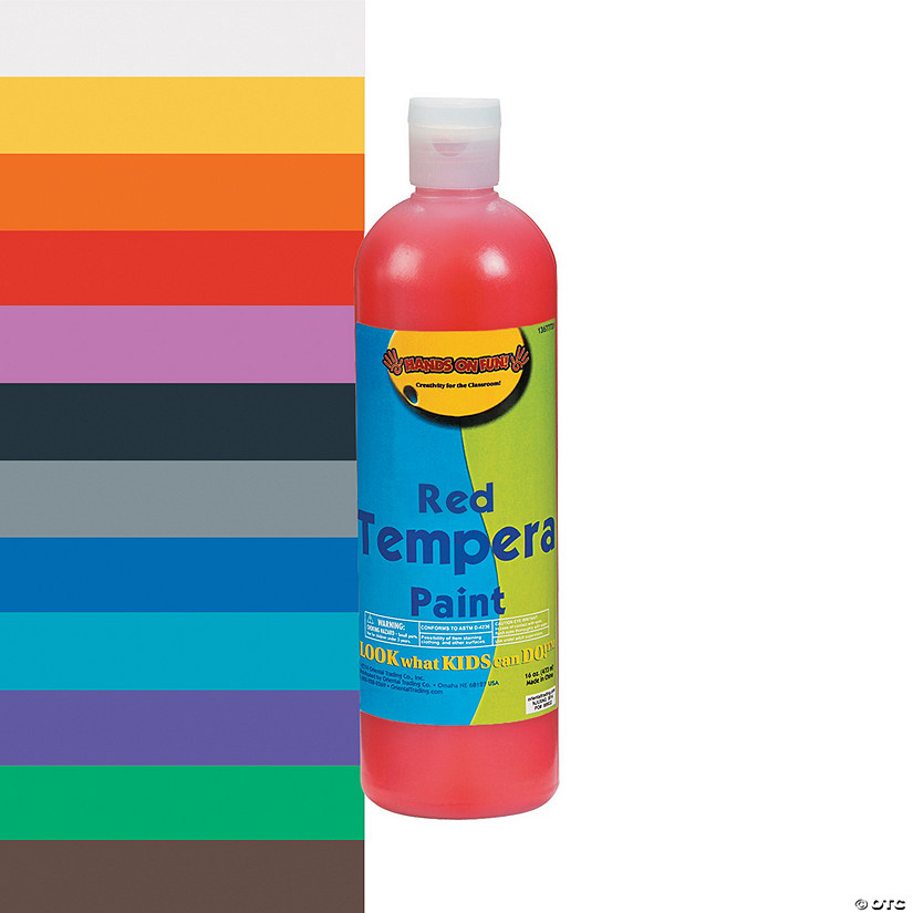 16-oz. Washable Tempera Paint Audio Thumbnail